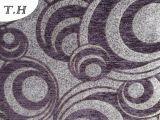Tela de los muebles de Gemotrial del Chenille por color negro