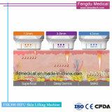 5 cartuchos de pele de ultra-som Hifu Máquina de perda de peso de elevação