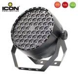 Venta caliente de alta potencia de 54X3W RGBW PAR LED de luz para DJ de Club/discoteca/TV/fase el equipo de eventos