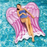 Belüftung-riesige aufblasbare Schwimmen schwimmt Winkel-Flügel