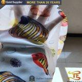 Polyester-dünnes Chiffon- Gewebe-Digital-Drucken-Gewebe 100% mit für Frauen-Kleid