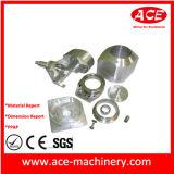 Soem-Aluminium, das hydraulische Teil-Befestigungsteile maschinell bearbeitet
