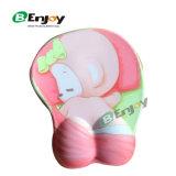 Pista de ratón personalizada de la calidad de la impresión de la foto con el resto de muñeca del gel para la venta
