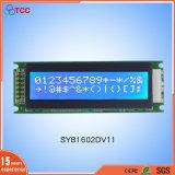 16*02 파란 LCD 디스플레이 1602년 옥수수 속 특성 LCM 16X2