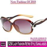 5256 Lady Fashion estilo retro óculos polarizados