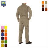 構築のWorkwearの安全溶接の炎-抑制作業ユニフォームのつなぎ服