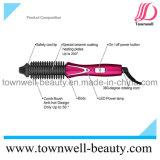 Щетка волос оптового волшебного размера перемещения конструкции щетки волос складного завивая