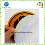 Großverkauf passte Vinyl gestempelschnittenen Firmenzeichen-Aufkleber an (JP-S112)