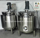 Calefacción a vapor tanque agitador de acero inoxidable