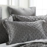 Couvre-lit en gris clair (N6082)
