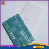 2017 disco instantâneo feito sob encomenda do USB do cartão de crédito do caso plástico OTG do logotipo do OEM do presente para Smartphone
