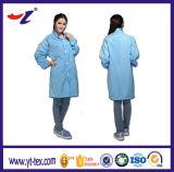 Полиэстер антистатической ткани одежды/ESD полиэстер антистатической ткани одежды