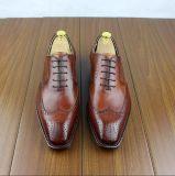 Os homens de luxo em couro artesanais feitas de calçado de couro de vacas de alta qualidade
