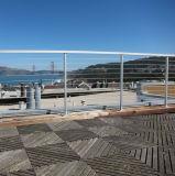 Het Bevestigen van de Kabel van de Draad van het Traliewerk van de Kabel DIY Balustrade