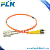 Sc-St Multimode Duplex Patch Cord Cable Assembly Fiber Optic Jumper