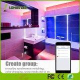 Indicatore luminoso di striscia astuto astuto multicolore della barra LED di RGB 30W 5m 300LEDs SMD5050 di controllo del telefono