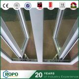 PVC Windows français, oscillation Windows As2047 de double vitrage de vinyle