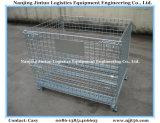 Armazém Empilhável de aço malha de malha cesta / cesta de armazenamento