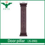 Colonna del portello di Entrace intagliata legno reale francese di stile doppia