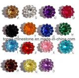 Горячее сбывание и очень дешевое цена коготь Rhinestone солнцецвета 10 mm акриловый шьют на Rhinestone для одежды (rhinestone Tp-10mm)