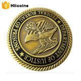 Fabrik-Direktverkauf-Metall prägt Qualitäts-Münzen und kundenspezifische doppelte Münzen-Gummireifen