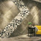 Decoração de azulejos do piso de cimento 600x600mm