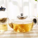 POT di vetro del tè 1200ml con la teiera bollita filtro