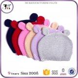 Chapéus orgânicos feitos sob encomenda elevados do bebê do algodão de Qualtiy