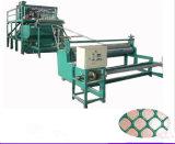 Plano de plástico de malla de polipropileno de compensación de la máquina extrusora
