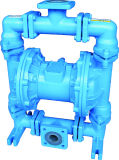 Haute qualité PP Pompe à diaphragme pneumatique
