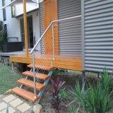 Balcón de los sistemas de pasamano del diseño de la cerca del cable del acero inoxidable
