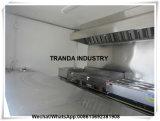 Remorque mobile de cuisine de nourriture de restaurant de thé de lait de salade du soja de thé mobile de bulle