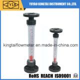 Medidor plástico do volume de água, Rotameter da água