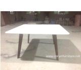 Vector de cena tablero de Corian de madera sólida del diseñador