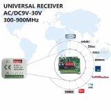Universele 2-kanaal Ontvanger. Compatibel systeem met: Berner 868.3MHz Bhs110, Bhs121, Bhs130, Bhs140, Bhs153, Bhs211, Bhs221 Remotes