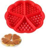 Moulage de gâteau de traitement au four de silicones de catégorie comestible