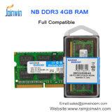 Польностью совместимая память RAM компьтер-книжки DDR3 4GB