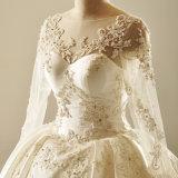 طويلة كم [أبّليقو] بلّوريّة أطلس أميرة عرس ثوب [بريدل غون]