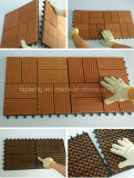 Fácil instalar o Decking ao ar livre de WPC DIY/anti prancha UV do revestimento