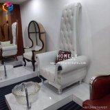 Fancy Dos haut trône blanc Chaise de pédicure SPA Tech de gros des chaires de