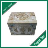 편평한 포장 엄밀한 물결 모양 판지 저장 상자