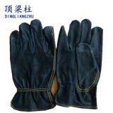 """10.5 """" gants de soudure fendus de gestionnaire de sûreté de peau de vache avec le CTC"""
