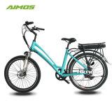 Внутренний 8 Bike города e скорости 36V 350W/электрический велосипед для повелительницы