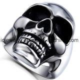 Joyería de la aduana del anillo del cráneo del acero inoxidable de la alta calidad 316