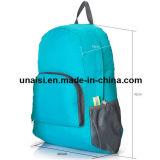 走行のキャンプをハイキングするためのFoldable二重肩のバックパック袋Daypack