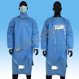 Chirurgische Wegwerfkleider, sterile chirurgische Kleider mit gestrickter Stulpe