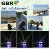 Proyector de la búsqueda Lamp6000-7000W/Beam del cielo de la iluminación de la etapa al aire libre de Gbr