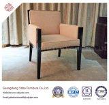 Hölzerne Hotel-Möbel mit festes Holz-Gewebe-Lehnsessel (YB-O-22)