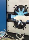 Máquina que prensa del manguito grande de la apertura