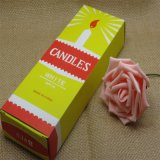 19cm Längen-weißer Kerze-Großverkauf nach Ghana